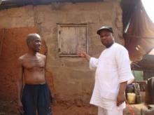 A beneficiary of a housing project in 2011